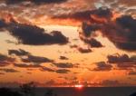 Sunrise over Pacific Ocean