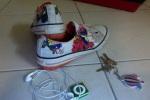 Shoes, keys, iPod